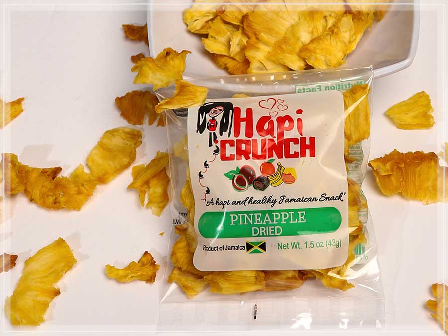 Ripe Pineapple Dried